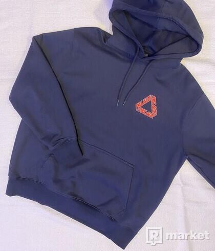 Palace P3 team triferg hoodie (navy)