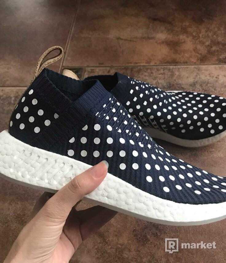 Adidas NMD City Sock polka dot primeknit