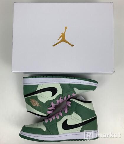 Air Jordan 1 mid Dutch Green