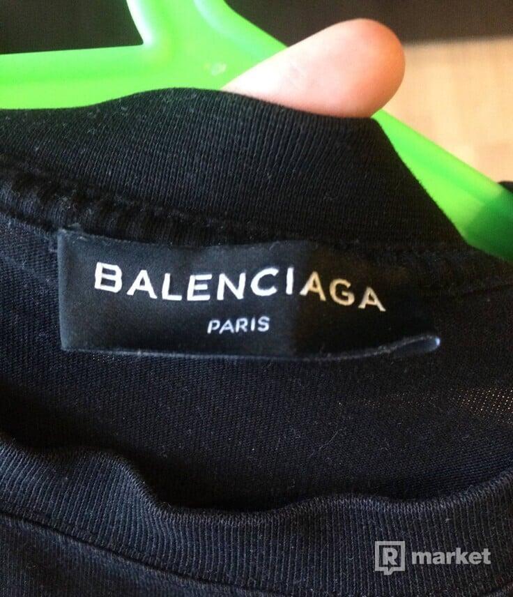 Balenciaga tee 2017