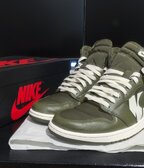 "Air Jordan 1 Retro High OG ""Olive Canvas"""