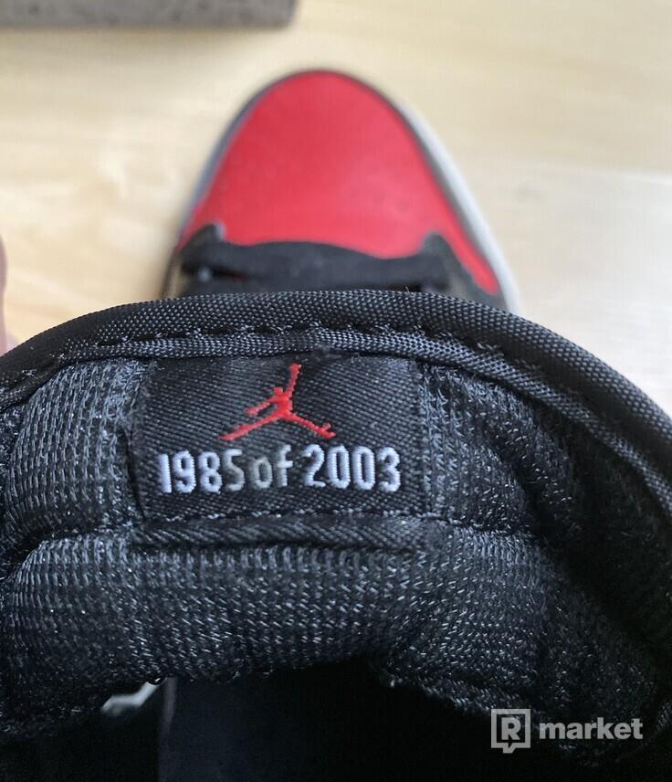 Jordan retro 1 Bred OG