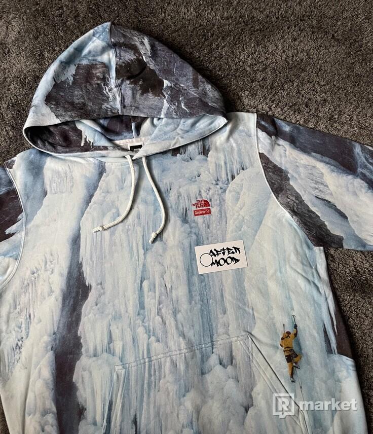 Supreme x The North Face Ice Climb hooded sweatshirt