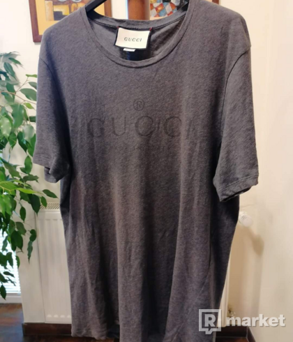 Gucci tee grey