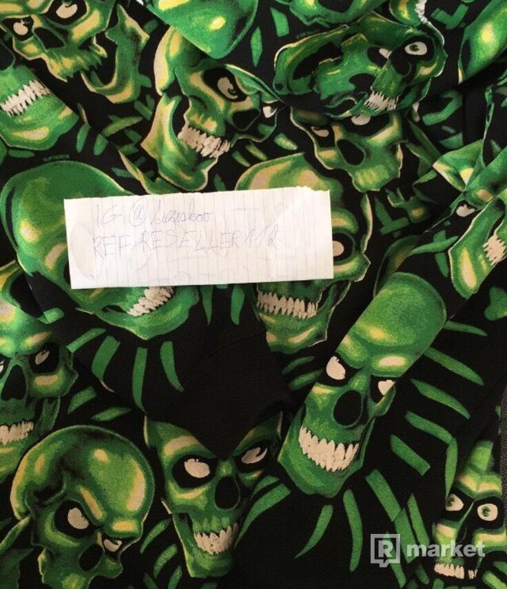 Supreme skull pill hoodie