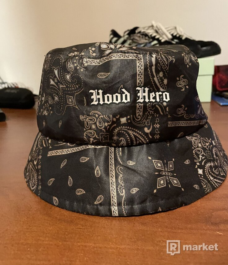 Hood hero Bucket hat