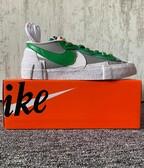 Nike Blazer Low sacai Medium Grey Classic Green (US 10)