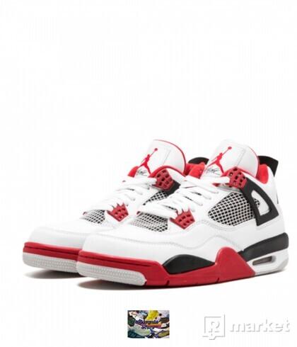 Nike Air Jordan RETRO 4 Fire Red