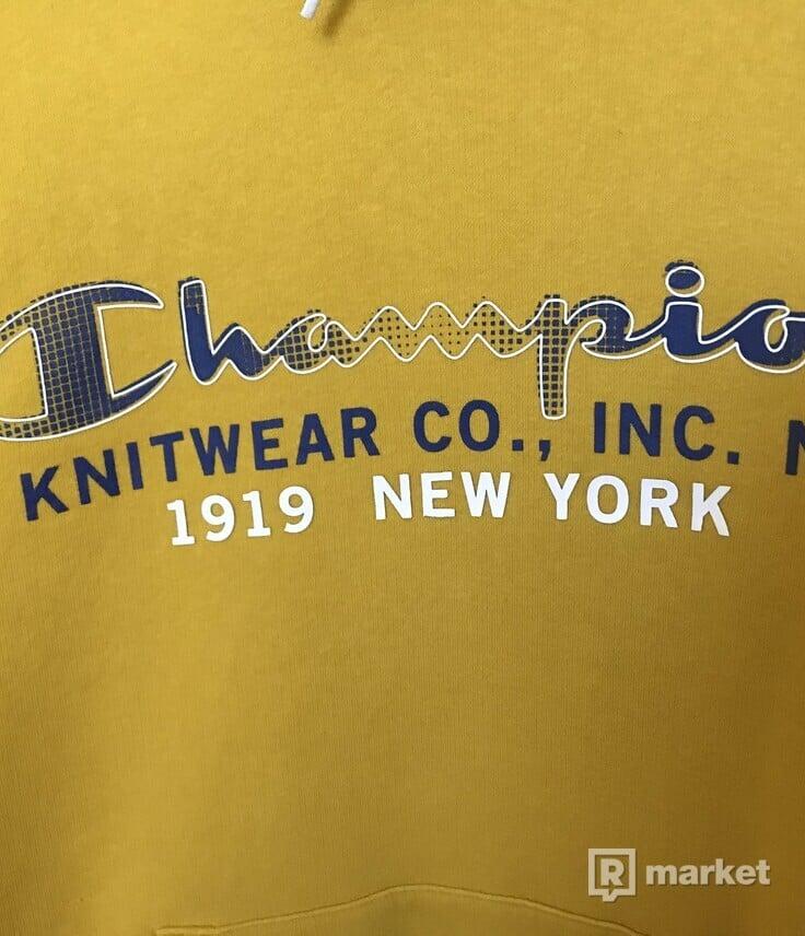Champion mustard hoodie