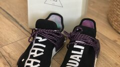 PW HU HOLI NMD MC - BLACK/PURPLE