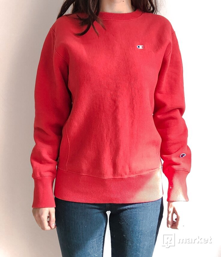 Champion mikina Basic Crewneck