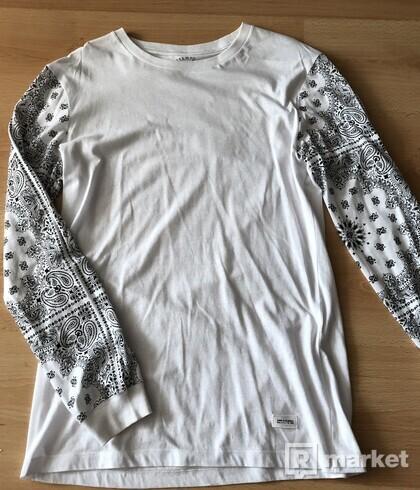 Stampd LA tričko s dlhým pattern rukávom veľ. S
