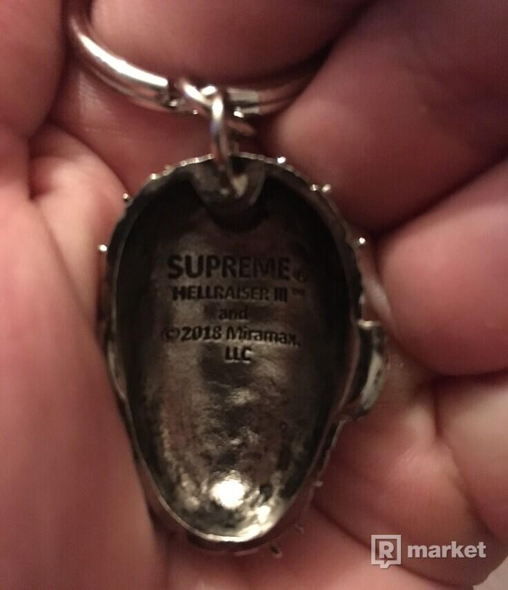 Supreme x Hellraiser Keychain