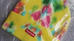 Supreme Beanie splatter dyed