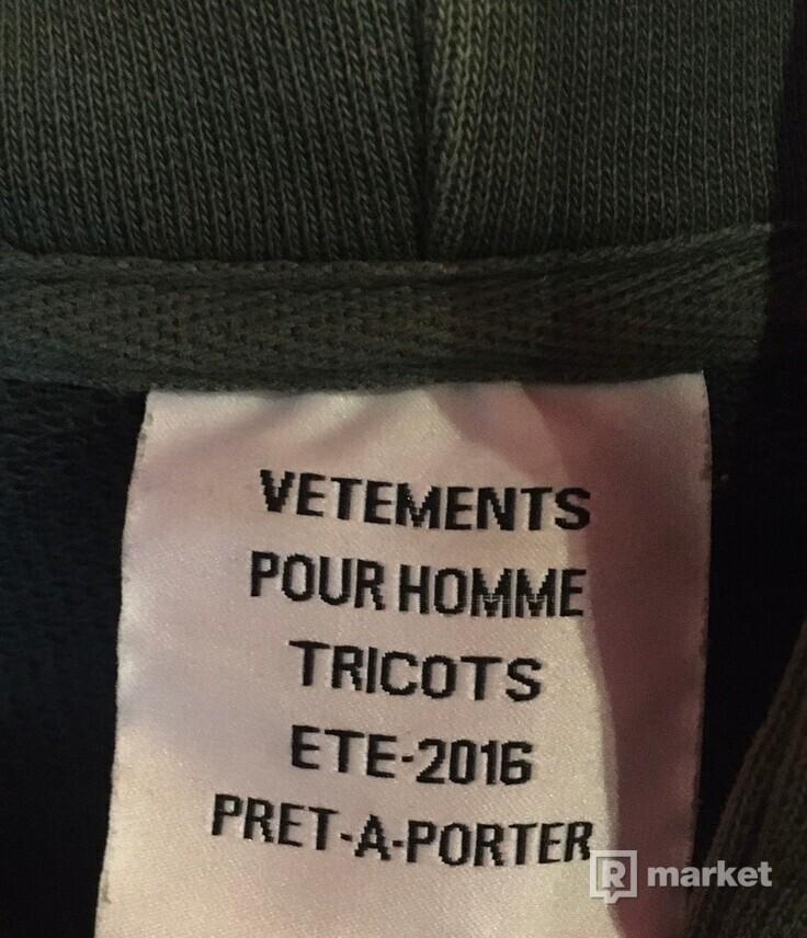 Vetements Polizei hoodie Pour Homme