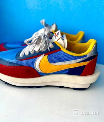 Nike Waffle Sacai Blue Multi