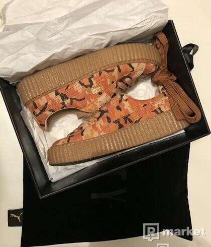 Fenty x Wmns Suede Creepers 'Orange Camo'