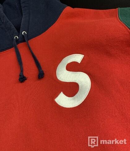Supreme S hoodie (Red)