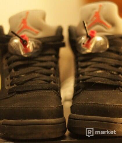 Air Jordan 5 Retro Og Black Metallic