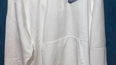 Supreme half zip hoodie