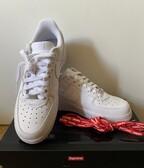 Nike Air Force 1 x Supreme White