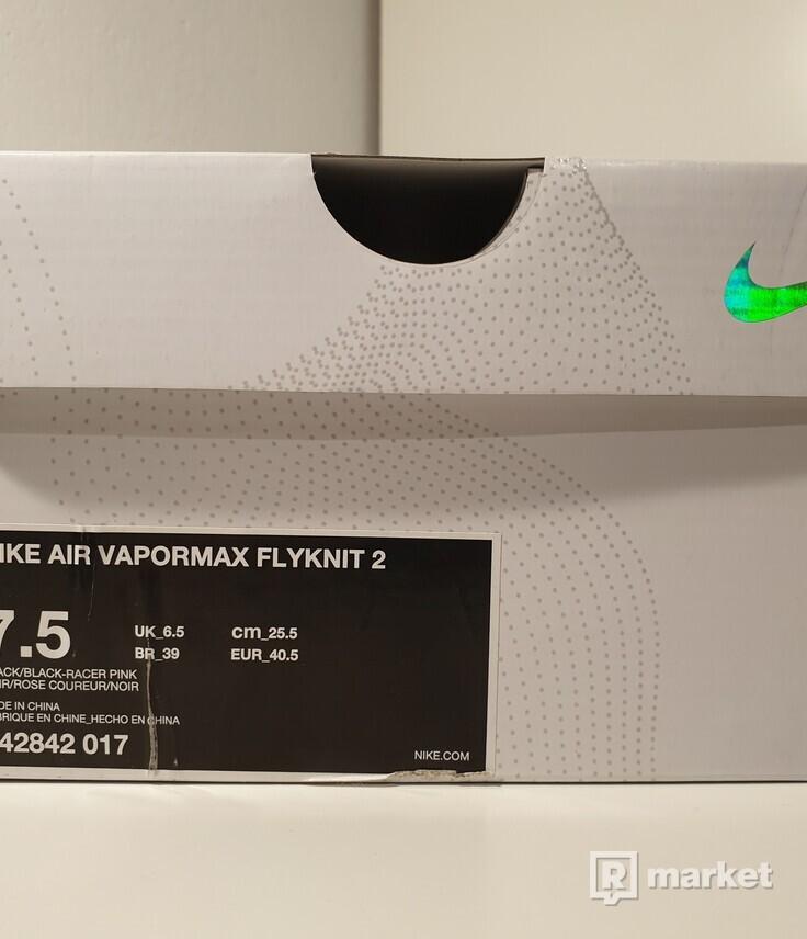 Nike Air Vapormax 2 Black Multi Colour