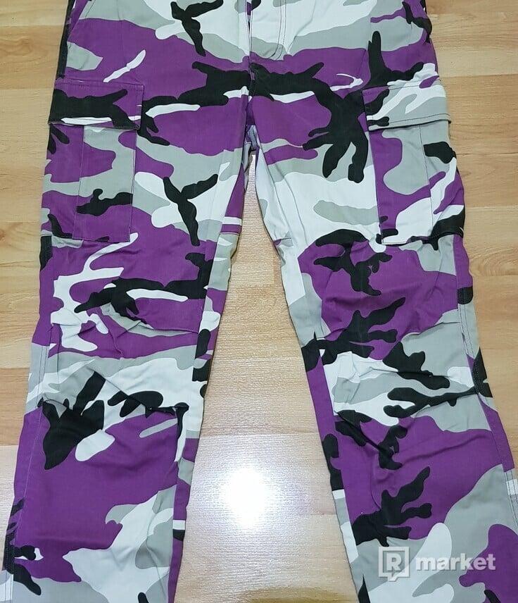 Cammo Pants purple