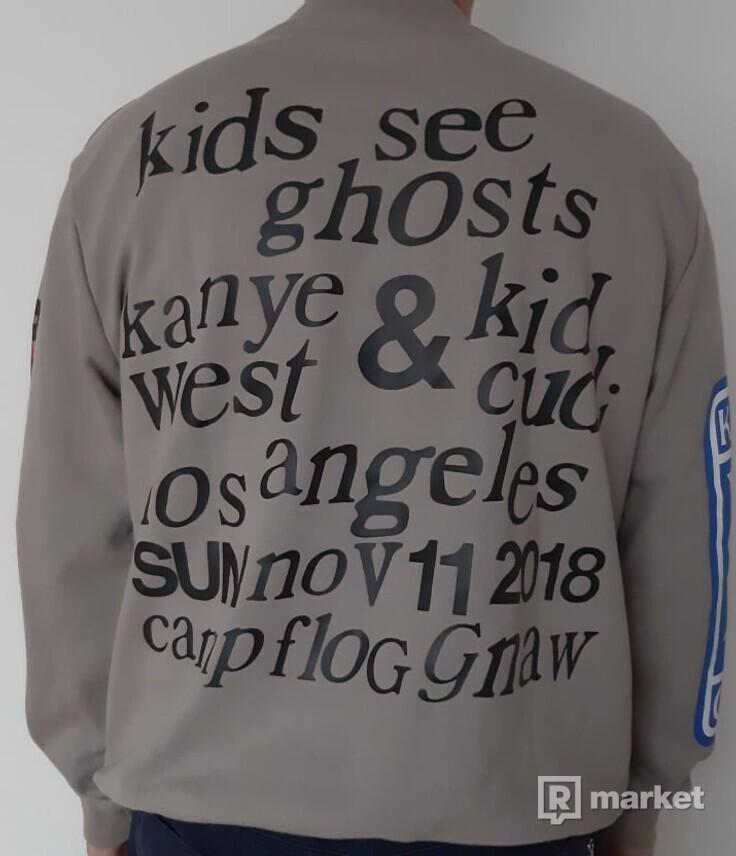 mikina NAGRI Kanye West KIDS SEE GHOSTS FREEE