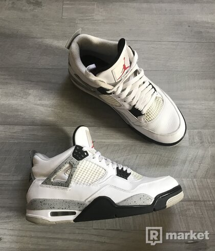 "NIKE AIR JORDAN 4 RETRO OG ""WHITE CEMENT"""