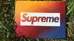 Canvas spray paint, Supreme