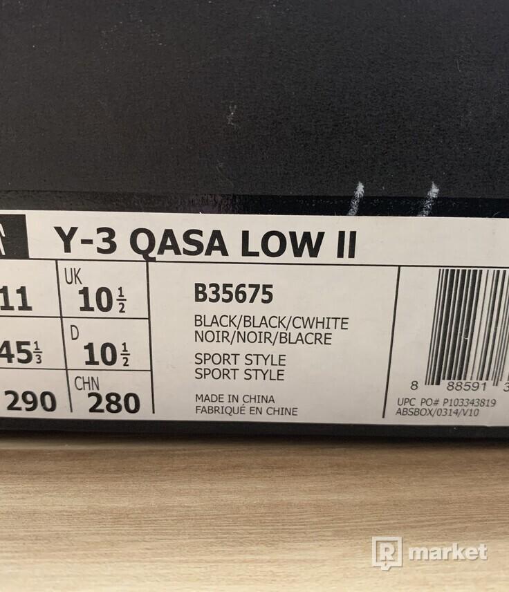 Y3 Qasa Low II