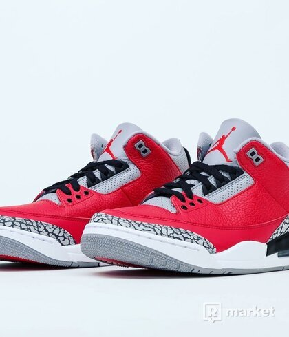 Jordan retro 3 fire red cement