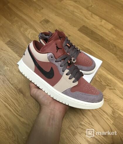 Jordan 1 Low Canyon rust