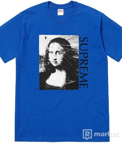 Supreme Mona Lisa tee Royal