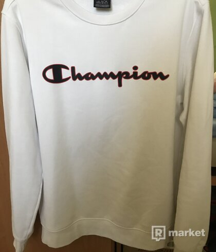 Champion White crewneck