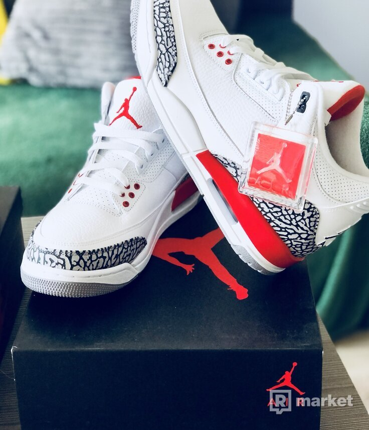 Air Jordan 3 Katrina Hall of Fame