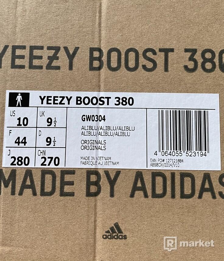 Adidas yeezy 380 aliblu