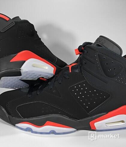 """Air Jordan Retro 6 OG """"Black Infrared"""" 2019"""