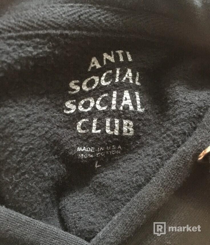 WTS anti social social club hoodie
