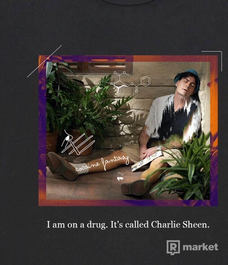 CHARLIE SHEEN - Tee -