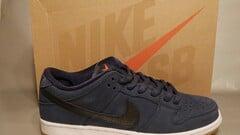 Nike SB Dunk Low Pro ISO Navy Orange