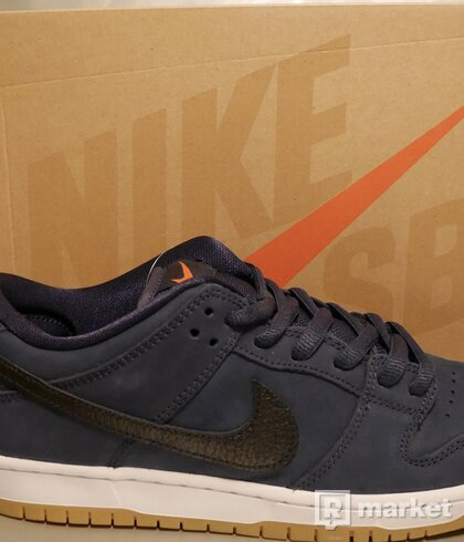 Nike SB Dunk Low Pro ISO Navy Orange