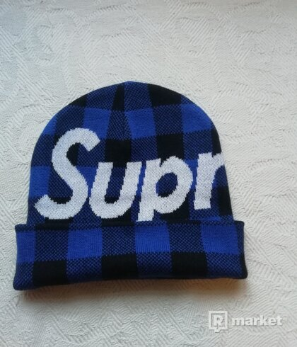 Supreme Big logo beanie DS