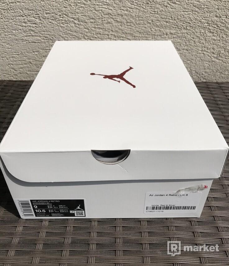 Jordan 4 Retro Metallic red US9/EU42,5