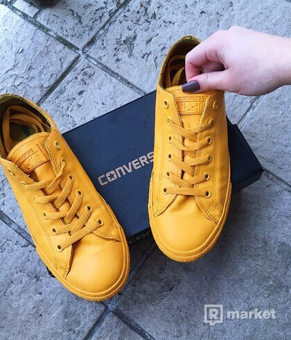UNISEX TENISKY CONVERSE CHUCK TAYLOR ALL STAR RUBBER YELLOW