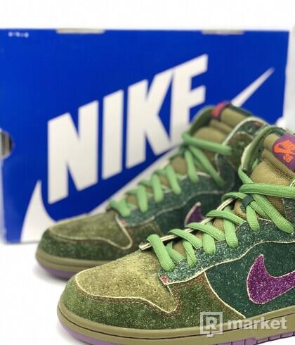 Nike dunk sb high Skunk 420