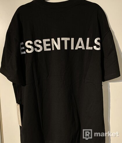 Fear of god essentials tee tričko