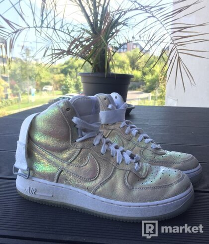 """LIMITED Air Force 1 Hi """"Iredescent Pearl"""""""