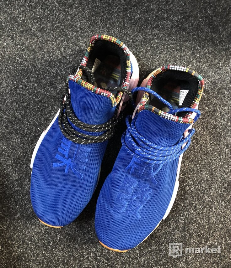 Adidas NMD HU Race Inspiration Pack Powder Blue