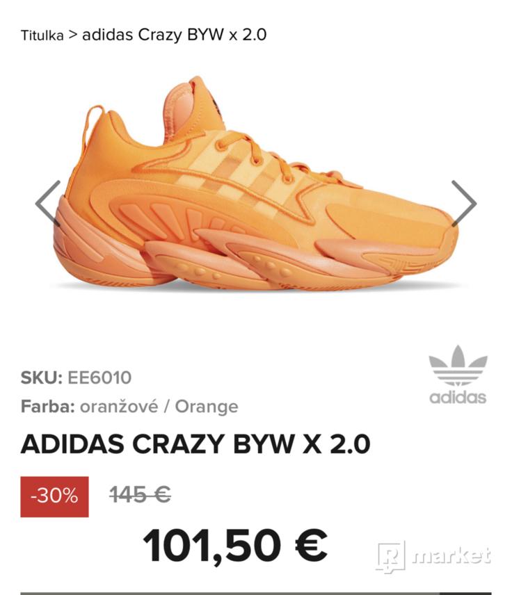 Adidas CRAZY BYW X 2.0 Super Stav.